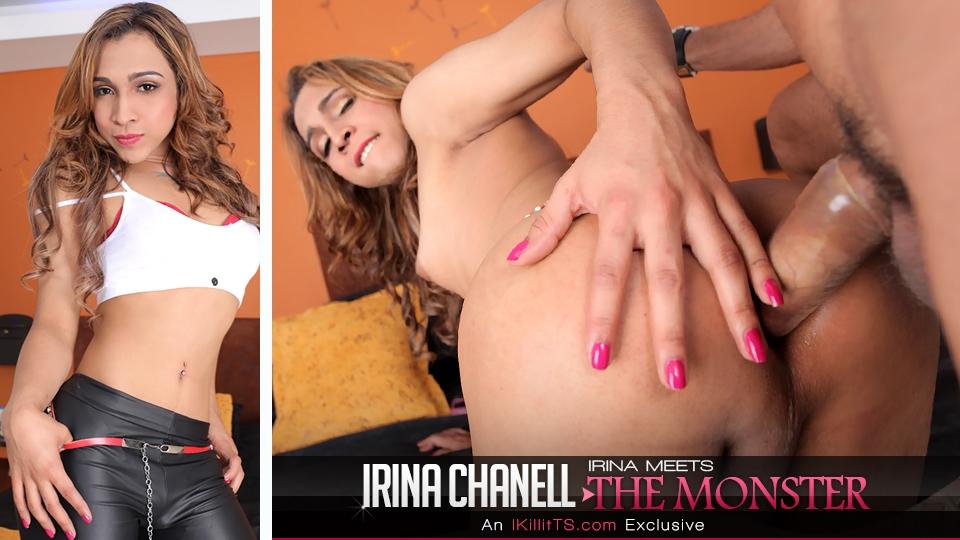 Trans500.com - Irina Meets the Monster