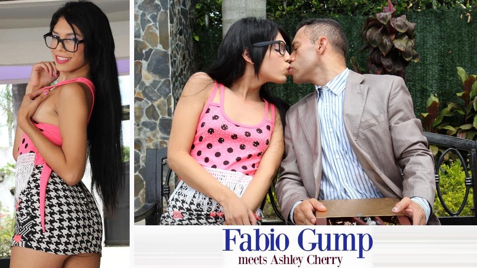 Trans500.com - Fabio Gump Meets Ashley Cherry