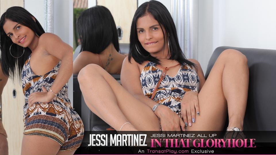 Trans500.com - Jessi Martinez all up in that Gloryhole