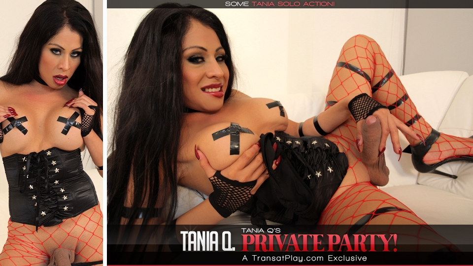 Trans500.com - Tania Q's Private Party